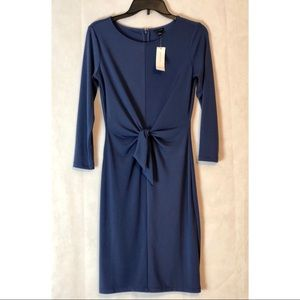 🆕 Ann Taylor Blue Tie Front Dress 0